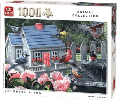 Legpuzzel COLORFUL BIRDS 1000 PCS