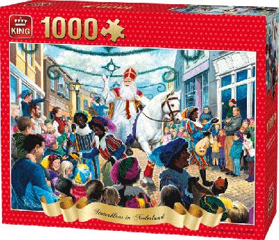 Legpuzzel Sinterklaas 2018 1000 stukjes