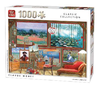 Legpuzzel Claude Monet (Classic Collection) 1000 stukjes