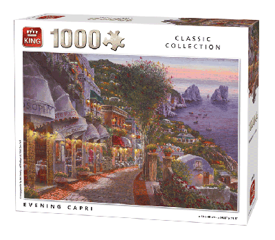 Legpuzzel Evening Capri (Classic Collection) 1000 pcs