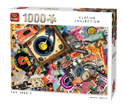 Legpuzzel the 1960's (Classic Collection) 1000 pcs