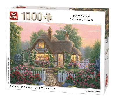 Puzzle Rose Petal Gift Shop 1000 pcs