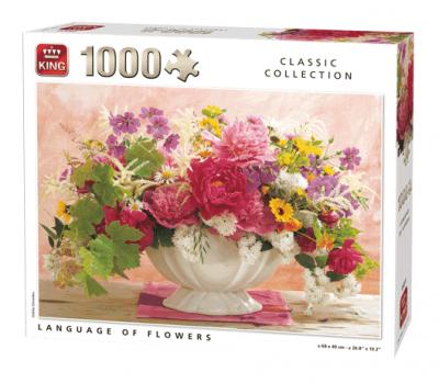 Legpuzzel The Language of Flowers, 1000 stukjes