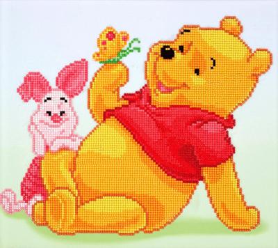 Camelot dotz pooh with piglet 36x32cm
