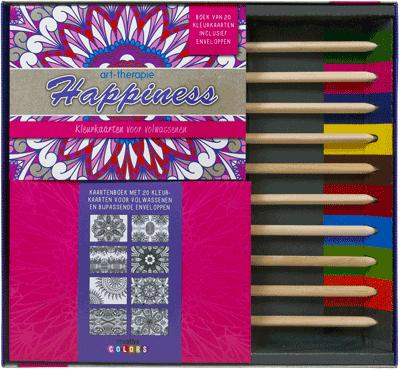 Art Therapie happiness kleurbox