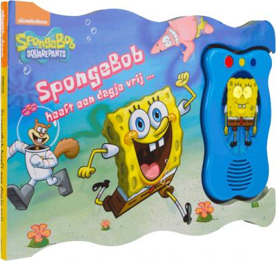 Spongebob heeft een dagje vrij - Geluidsboek