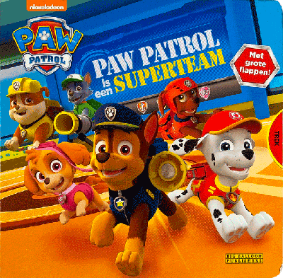 Paw Patrol - Is een superteam!