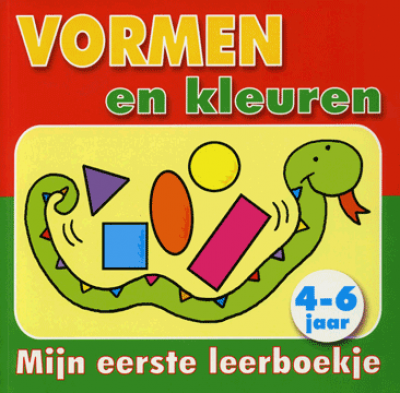 Mijn eerste leerboekje vormen en kleuren