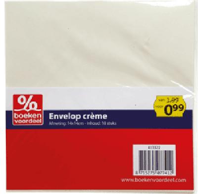 Vierkante enveloppen 14x14 cm