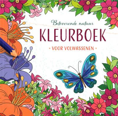 Betoverende natuur - kleurboek voor volwassenen