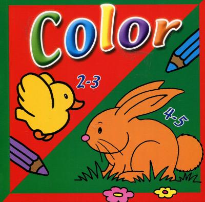 Mini Color kleurboek 2-5 jaar
