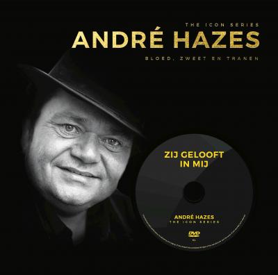 The Icon Series: Andre Hazes (boek+dvd)