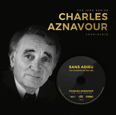 The Icon Series: Charles Aznavour (boek+cd)