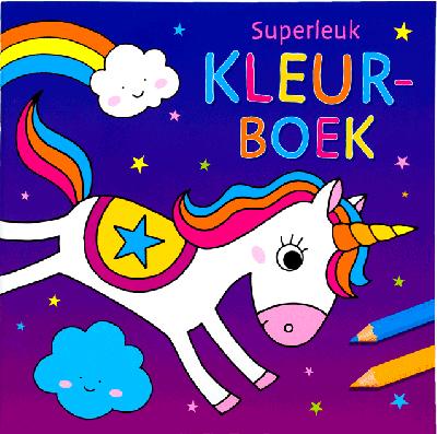 Superleuk Kleurboek Eenhoorn