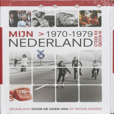 Mijn Nederland (incl 2 dvd's) In Woord en Beeld - 1970-1979
