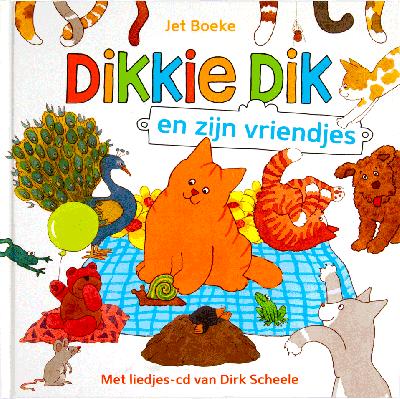 Dikkie Dik en zijn vriendjes - CD