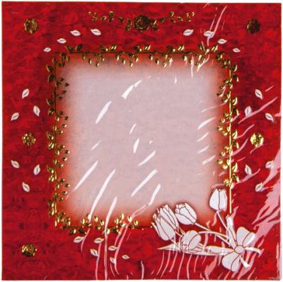 Borduurkaarten Vierkant 577054 10 vel