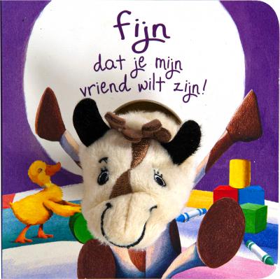 Vingerpop boekje - fijn dat je mijn vriend wilt zijn!