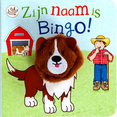 Vingerpop boekje - zijn naam is Bingo!