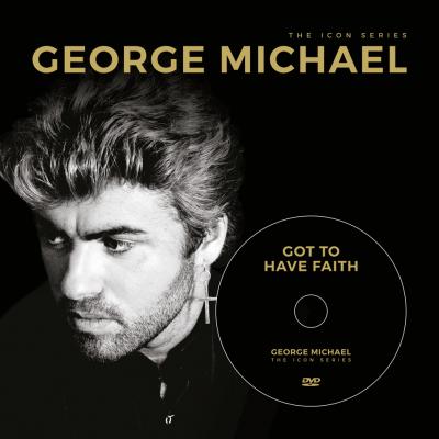 The Icon Series: George Michael (boek+dvd)