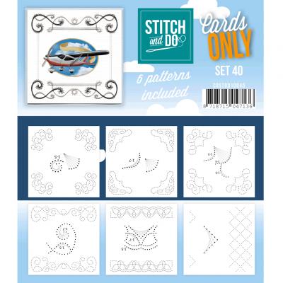 Stitch & Cards only set 40