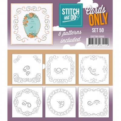 Stitch & Cards only set 50