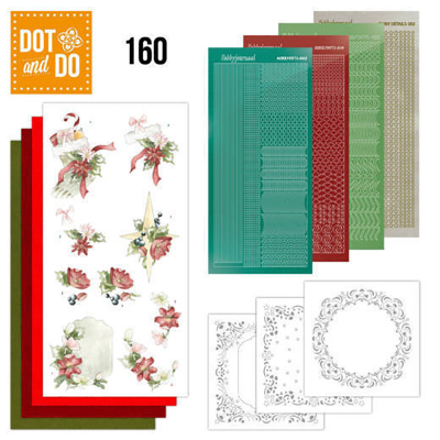 Dot & Do 160 Rode kerst versiering