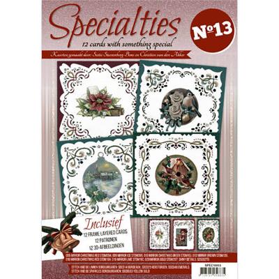 Specialities 13 boek inclusief stickers