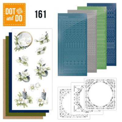 Dot & Do 161 amarlyllis en blauwe bessen