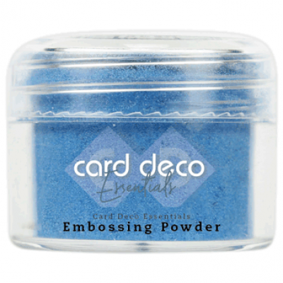 Card Deco Essentials - Embossing Powder blue 30Gr