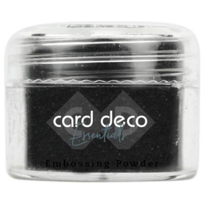Card Deco Essentials - Embossing Powder black 30gr