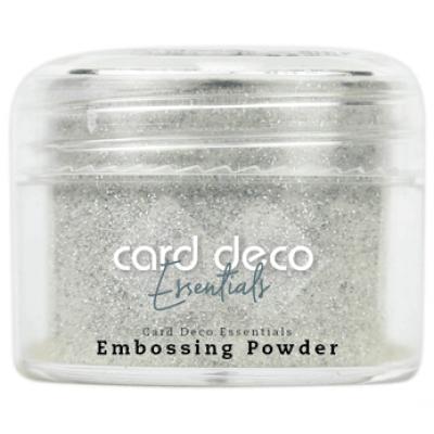 Card Deco Essentials - Embossing Powder glitter white 30gr