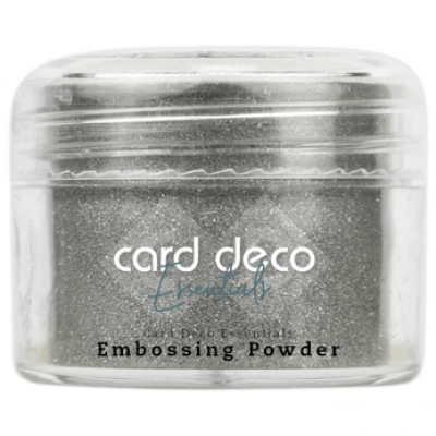 Card Deco Essentials - Embossing Powder glitter silver 30gr