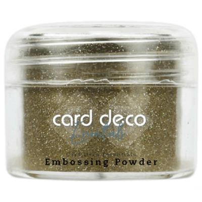 Card Deco Essentials - Embossing Powder glitter gold 30gr