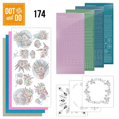 Dot and Do 174 YC Flowers in Pastel
