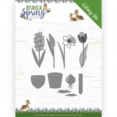 Snijmal Bulbs and flowers Botanical Spring Amy Design