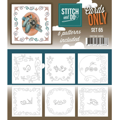 Stitch & Do Cards only set nummer 65