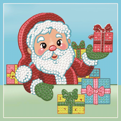 Dotty Designs Diamonds Card 4 kerstman