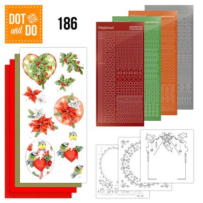 Dot & Do 186 red holly berries Jeanine's Art