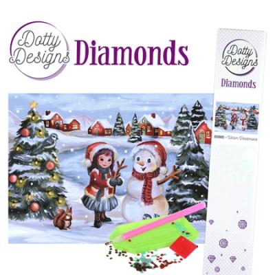 Dotty Designs Diamonds winter wonderland