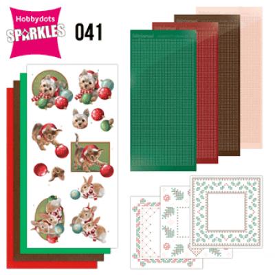 Sparkles set 41 christmas pet's Amy Design
