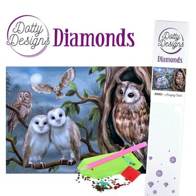 Dotty Designs diamonds geweldige uilen