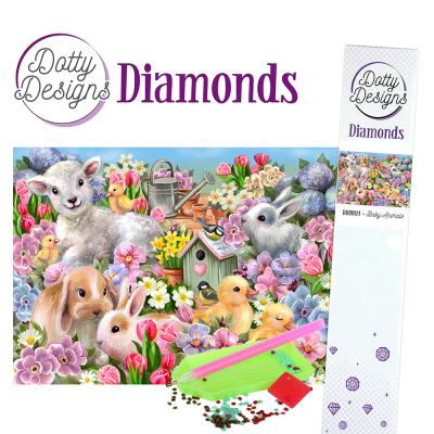 Dotty Designs diamonds jonge dieren