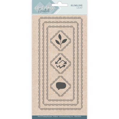Slimline snijmal slimline leaf card deco essentials