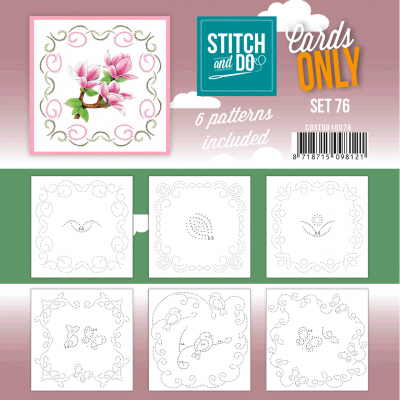 Stitch & Do cards only set 076