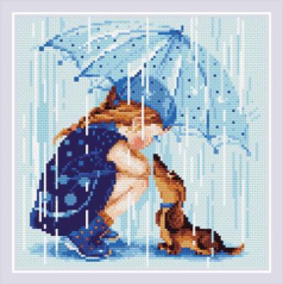 Diamond mosaic under my umbrella Riolis