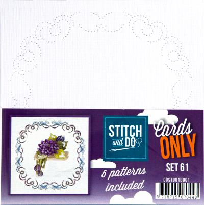 Stitch & Do cards only set 61