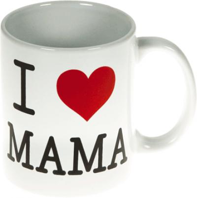 Beker I love mama