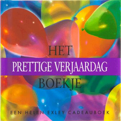 Cadeauboekje het prettige verjaardag boekje