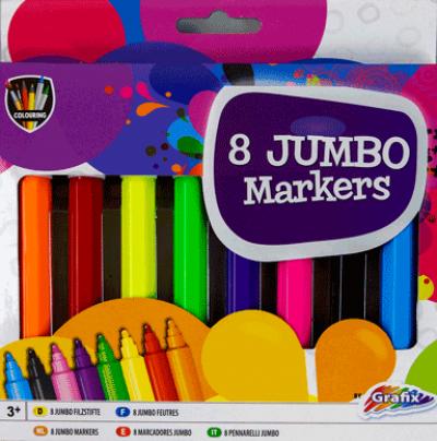 8 jumbo markers